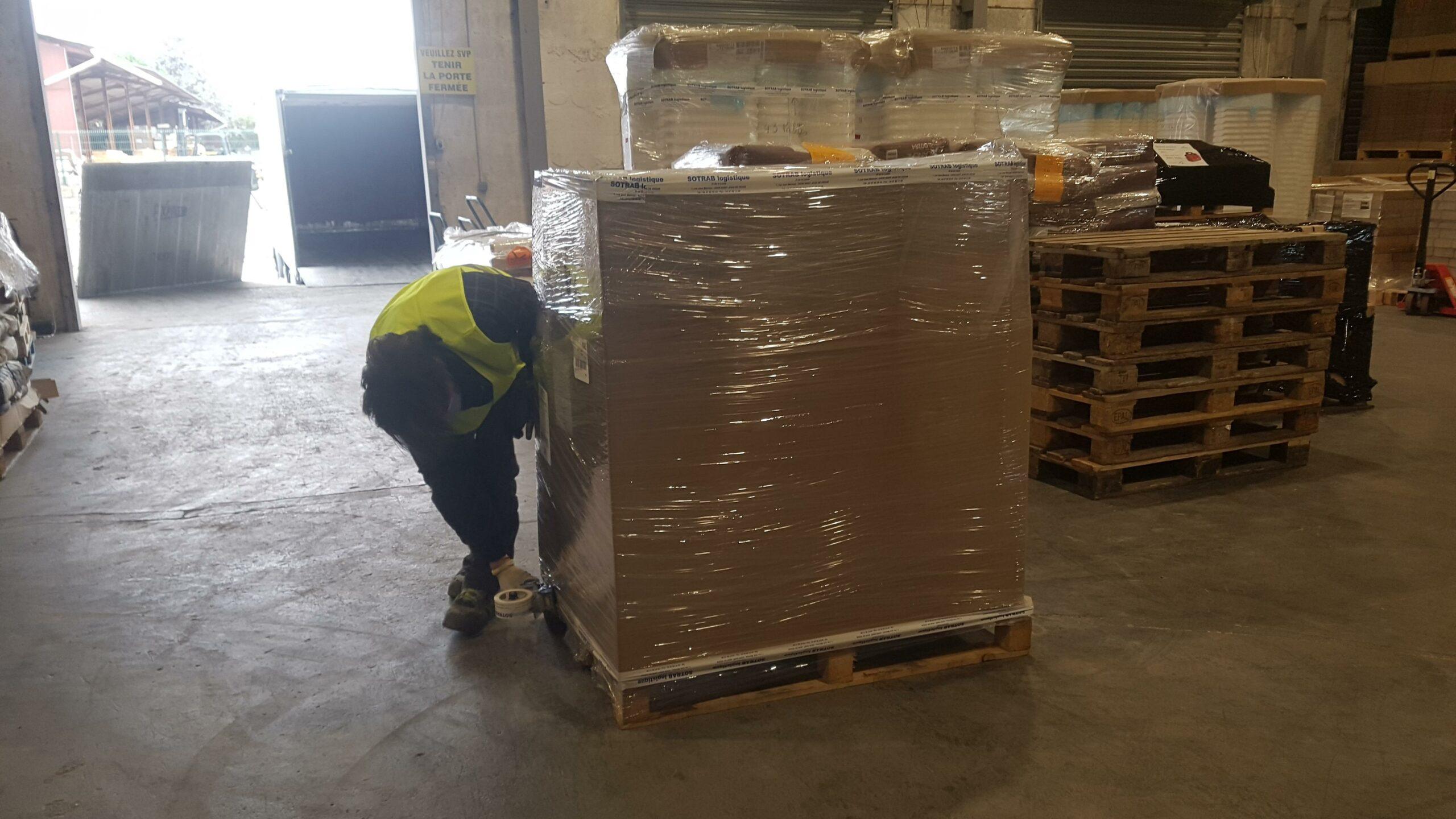 Logistique et messagerie professionnelle avec SOTRAB à Lattes
