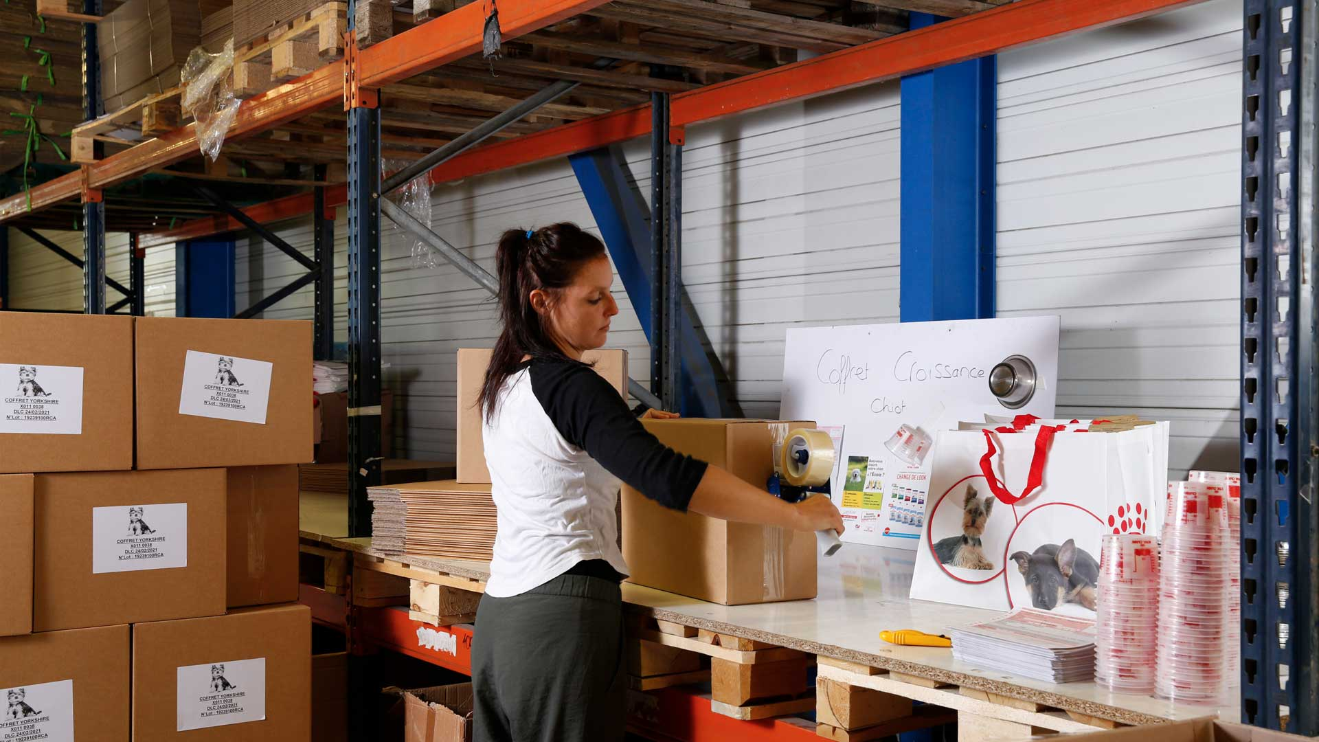 Nos solutions de co-packing de marchandises avec SOTRAB à Montpellier