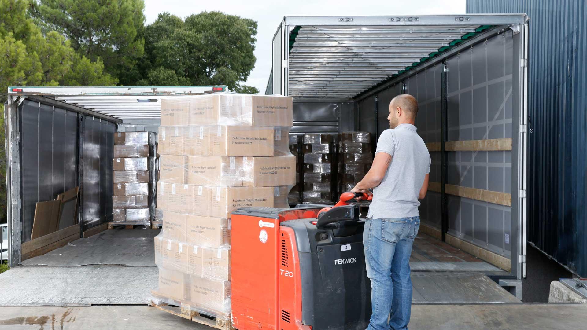 Nos solutions de cross-docking de marchandises avec SOTRAB à Montpellier