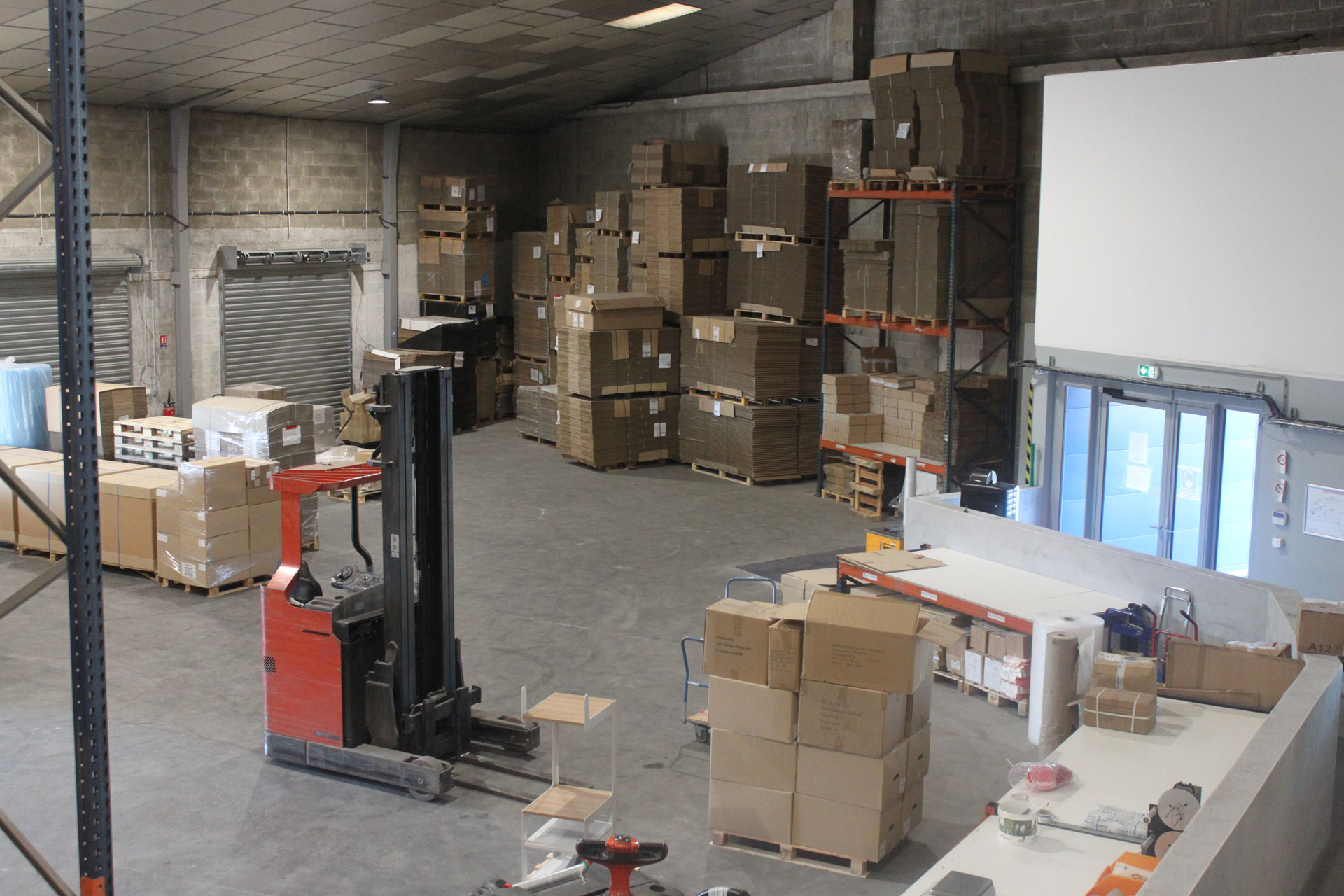 Logistique E-commerce SOTRAB à Lattes