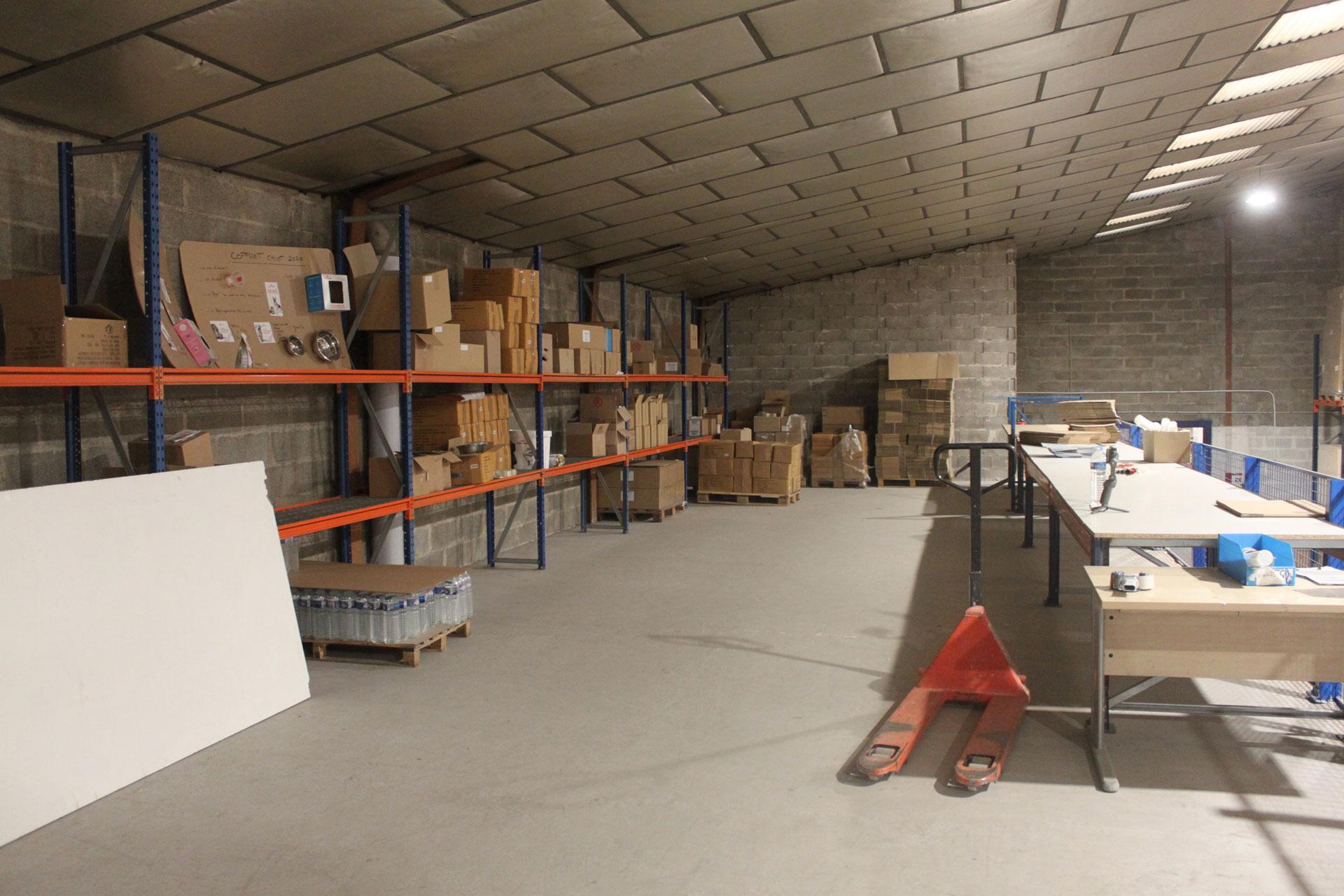 Logistique E-commerce SOTRAB à Saint-Jean-de-Védas