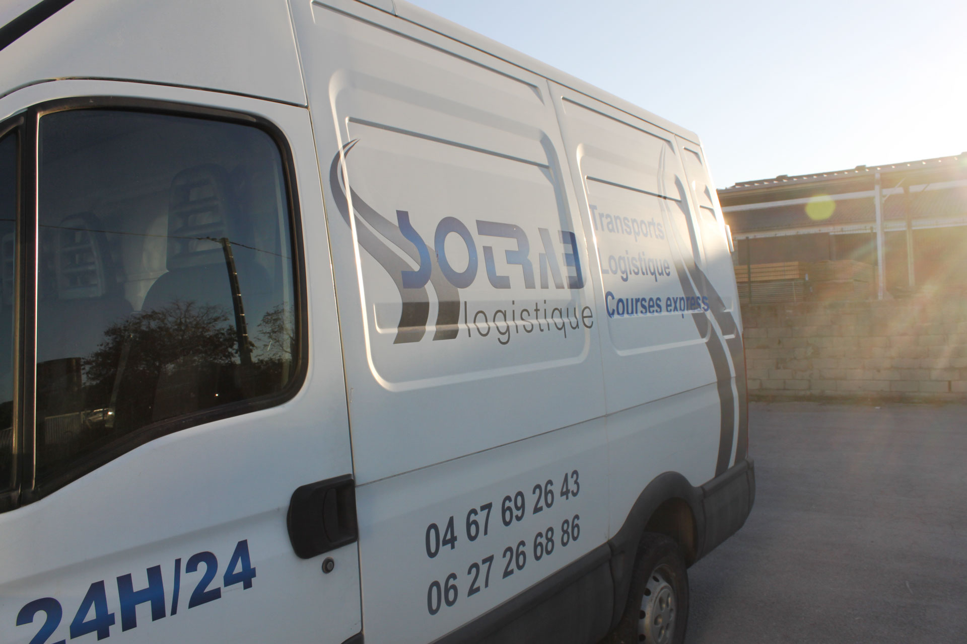 Transport de marchandises - Affrètement - Messagerie : SOTRAB à Saint-Jean-de-Védas